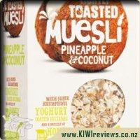 Lightly Toasted Muesli Pineapple & Coconut