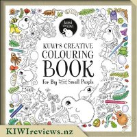 Kuwi's Creative Colouring Book for Big and Small People