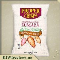 Proper Crisps - Kumara Pepper with Onion