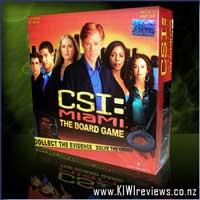 CSI: Miami boardgame