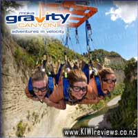 Mokai Gravity Canyon - Flying Fox