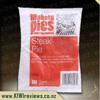 Maketu Steak Pie - Single Serve