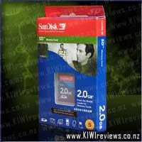 SanDisk Standard SD Card  - 2gb