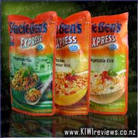 Uncle Ben's Express Rice : Tomato and Basil Rice