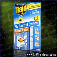 Raid Fly Control System - Flower Sticker