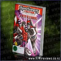 Transformers Cybertron : vol 1 - A New Beginning