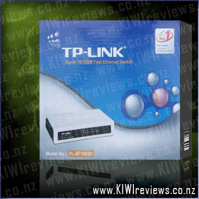 TP-LINK TL-SF1005F 5 Port Ethernet Switch