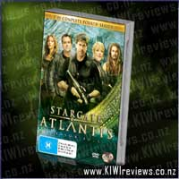 Stargate Atlantis : The Complete Fourth Season