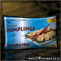 Seafood and Veges Dumplings