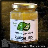 Saffron Lime Curd