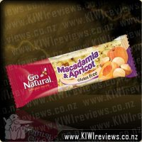 GoNatural Macadamia and Apricot bar