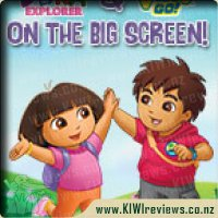 Dora and Diego on the Big Screen
