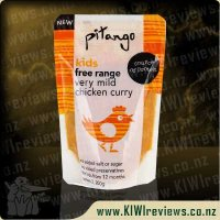 Pitango Kids free range very mild chicken curry