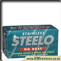 Steelo Scourer Stainless Soap Pads No Rust
