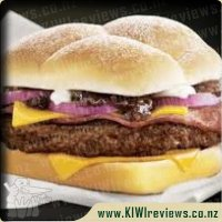 McDonalds Mighty Angus Burger
