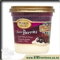 Puhoi Valley Divine Berries Yoghurt Tub