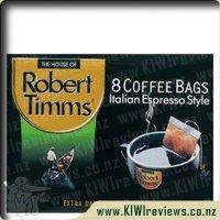 RobertTimmsItalianEspressoCoffeeBags