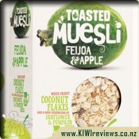 Toasted Muesli Feijoa & Apple