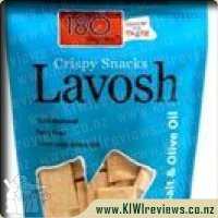 Lavosh Crispy Snacks: Sea Salt & Olive Oil