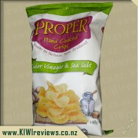 Proper Crisps - Cider Vinegar and Sea Salt