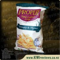 Proper Crisps - Rosemary and Thyme