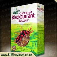 Vogel's Cranberry & Blackcurrant Clusters
