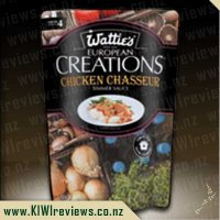 European Creations - Watties Chicken Chasseur