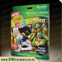 TMNT Color Wonder Magical Metallic Pages