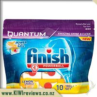 Finish Powerball Quantum Dishwasher Tablets Lemon 175g 10pk