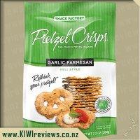 Pretzel Crisps - Garlic Parmesan