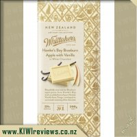 Whittakers Braeburn Apple with Vanilla Chocolate