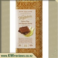 Whittakers Nelson Pear and Manuka Honey Chocolate
