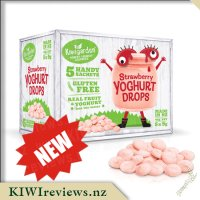 Strawberry Yoghurt Drops