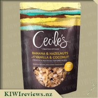 Cecile's Creative Kitchen Banana and Hazelnut with Vanilla and Coconut