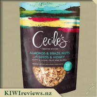 Cecile's Creative Kitchen Almonds And Brazil Nuts with Seeds & Honey