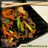 Simple Spicy Beef Stirfry
