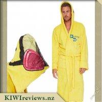 Breaking Bad Bathrobe Cooksuit Design with Hood (Yellow)