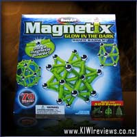 Magnetix - 70pc Glow-in-the-Dark set