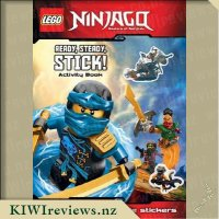 LEGO Ninjago: Ready, Steady, Stick! Activity Book