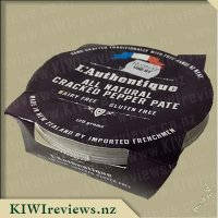 L'Authentique All Natural Cracked Pepper Pate