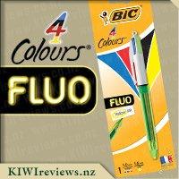 BIC4ColourFluoBallpointPen