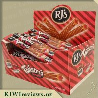 RJs Sour Twisters Logs - Cola & Raspberry