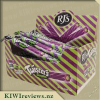 RJs Sour Twisters Logs - Grape & Lime