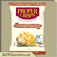 Proper Crisps - Onion with Green Chives