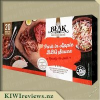 Beak & Sons Slow Cooked Pork in Apple BBQ Sauce