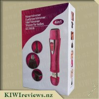 4-In-1USBRechargeableFacialHairTrimmer