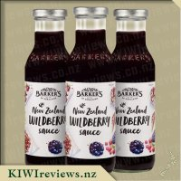 Barker's New Zealand Wildberry Sauce