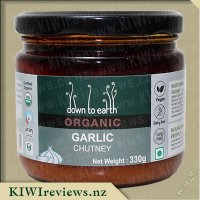 Down to Earth Organic Chutney - Garlic