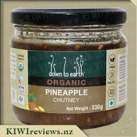 Down to Earth Organic Chutney - Pineapple