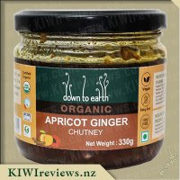 Down to Earth Organic Chutney - Apricot Ginger